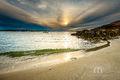 Annisquam Light, Sunset, beach, wave