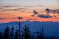 Great Smoky Mountains, sunrise, Clingman's Dome