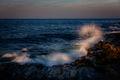 Maine, Maine Coast, Mid-Coast, NEPW, Pemaquid,lighthouse,waves,splash,coast,rocks