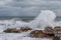 Gloucester, MA, winter, storm, ocean, New England