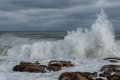 storm, winter, Gloucester, MA, New England, coast, waves