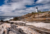 sky, clouds, new england, lighthouse, light house,