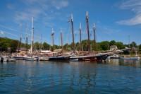 Camden, Maine, Boats, Harbor, New England