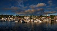 Camden Harbor Early Morning