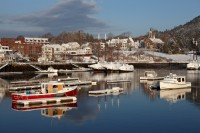 Camden, Maine, Winter, Harbor, New England, Boats, Favorites