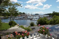 Camden, Maine, Harbor, View, New England