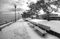 First Snow Of The Winter In Newburyport