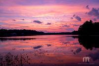 Pentucket Pond, Sunset