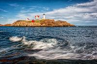 Lighthouse, Maine, Maine Coast, Nubble Light