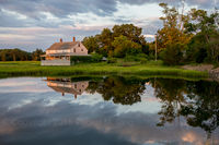 New England, essex, ma, slack water, tide, reflections