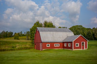 NEK, Vermont, New England, Red Barn, New England Photo Workshops