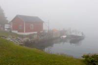 Lobstering, Fog, Spruce Head, Maine, New England