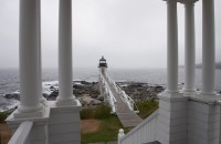 Marshall Point Lighthouse, Marshall Point, Port Cylde, Maine, Lighthouse, New England