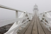 Marshall Point Lighthouse In Fog