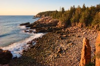 Otter Cliff, Acadia, Acadia National Park, Maine, Coast, New England
