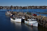 Portsmouth, New Hampshire, Boats, New England, Coast, Harbor
