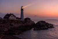 Maine,Maine Coast,Portland Head Lighthouse,