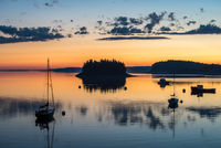 Lubec, harbor, sunrise, early morning light, new engald, coast