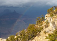 Rainbow In The Canyon