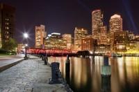 Rowe's Wharf At Night