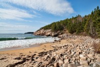 Acadia NP,Sand Beach At Acadia, Maine, New England Photo Workshops