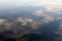 Shore, Lake, Reflections, Nature, Clouds, Maine, New England