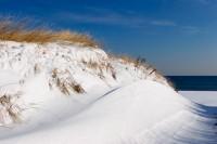 Snow, Snowy, Dune, Beach, Massachusetts, Ocean, New England, Nature