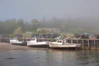 Working On Owls Head Lobster Boats