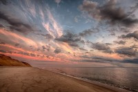 Cape Cod, MA, beach, atlantic ocean, HDR, sand, sunrise,Longnook Beach, New England Photo Workshops