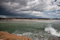 Clouds, rain storm, Gloucester, MA,Good Harbor Beach