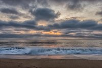 Plum Island, sunrise, coast, New England