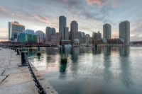 Boston, skyline, massachusetts, harbor, waterfront, travel, New England Photo Workshops
