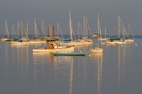 Rockland, Maine, boats, ocean, harbor