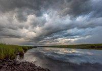 Storm, clouds, Newburyport, MA, New England, landscape, scenic