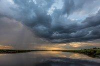 Storm, clouds, sun, New England, Massachusetts, coast