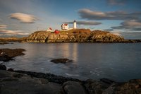 Nubble Light, Lighthouse, New England, Maine, Coast