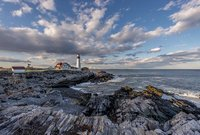 Maine Coast, New England, Atlantic