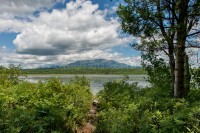 Mt. Katahdin, Maine, New England, Mountain, Pond