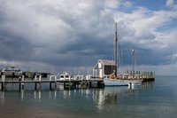 Martha's Vineyard,Vineyard Haven, storm, clouds, New England Photo Workshops