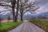 Cades Cove, down the road, Great Smoky Mountain National Park