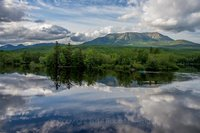Great North Woods, Mt. Katahdin, Abol, Maine, Scenic, Landscape, New England Photo Workshops, calendar shot