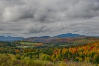 New England, NH, Foliage, valley, view