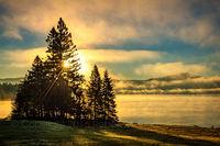 sunrise, morning, NH, Pittsburg, New England,New England Photo Workshops