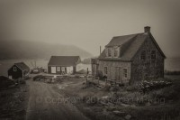 Monhegan Maine, island, fog, rain,New England Photo Workshops