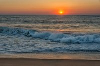 New England, Cape Cod, Coast, Sunrise, wave, ocean, fine art