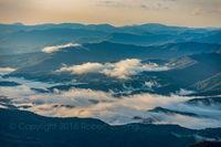 Smoky Mountains, Tennessee, fog
