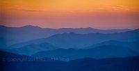 Smoky Mountains, sunset