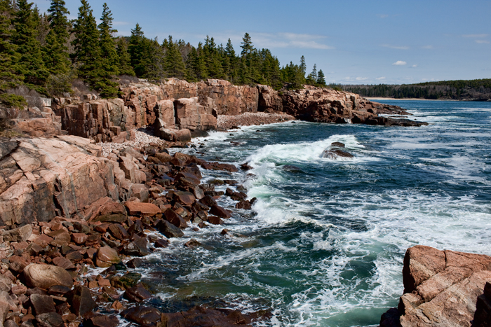 Acadia Surf, coast, maine, acadia np, nature, ocean, waves, atlantic, New England Photo Workshops, photo