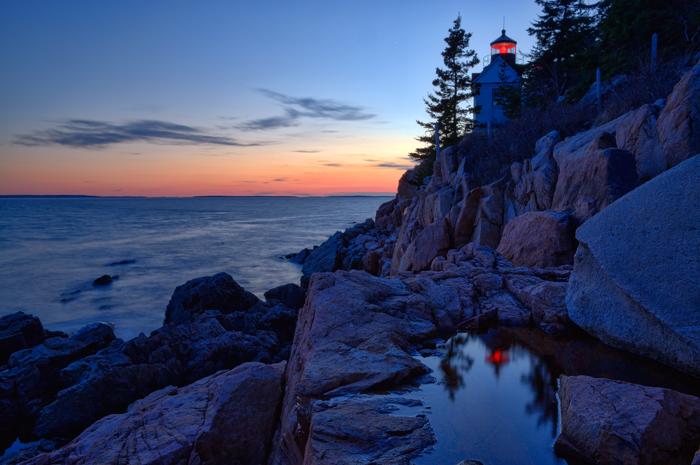Mount Desert Island, Maine,Bass Harbor Light, Lighthouse, coast of maine, Ocean, Atlantic, New England Photo Workshops, photo