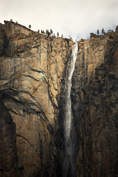 Yosemite National Park, National Park, Bridalveil Falls, Panorama, California, West of New England, photo